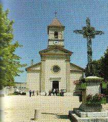 Igreja onde São Pedro Julião Eymard foi Batizado e onde serviu de coroinha nas Missas.