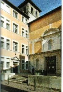 Seminário onde fez seus estudos teológicos.